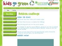 Rubbish Challenge Game