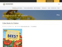 5 Bee Books for Children