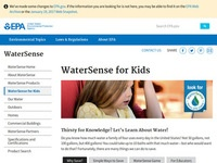 EPA's WaterSense for Kids