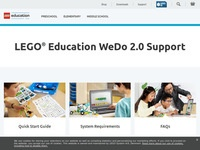 LEGO Education's WeDo 2.0 Support
