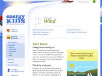 EIA's Wind Webpage