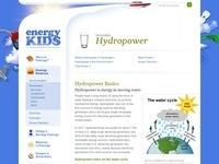 EIA's Hydropower Webpage