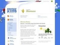 EIA's Biomass Webpage