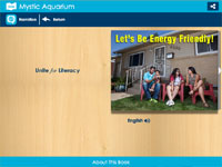 Unite for Literacy's Let's Be Energy Friendly Book