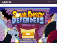 Wonderville's Solar Energy Defenders Game