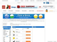 LEGO® Pick a Brick Online Catalogue