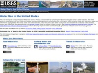 U.S. Geological Survey's Water Use in the United States