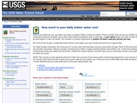 USGS's How much is your daily indoor water use?
