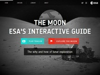 European Space Agency's The Moon: ESA's Interactive Guide